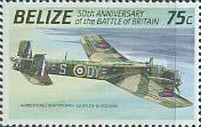[The 50th Anniversary of the Battle of Britain - Airplanes, type VA]