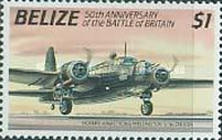 [The 50th Anniversary of the Battle of Britain - Airplanes, type VB]