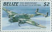 [The 50th Anniversary of the Battle of Britain - Airplanes, type VC]