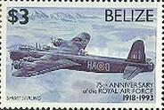 [The 75th Anniversary of Royal Air Force, type XC]