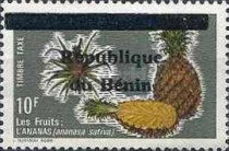 [Fruits - Stamps of 1978 Surcharged, Typ H]