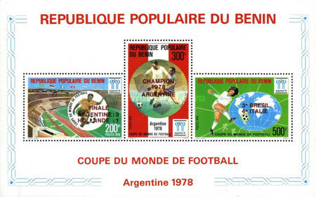 [Argentina's Victory in the Football World Cup - Argentina - Stamps of 1978 Overprinted, type ]