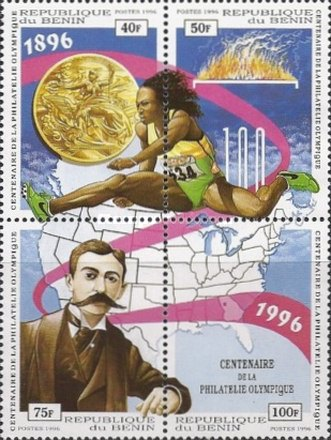 [The 100th Anniversary of Issue by Greece of First Olympic Stamps, Typ ]