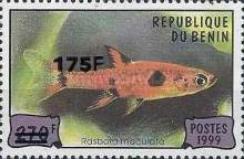 [Various Stamps Surcharged, Typ ADY1]