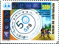 [The 50th Anniversary of SOS Children's Villages, Typ AFM3]