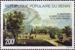 [Airmail - The 10th Anniversary of International French Language Council, type AT]