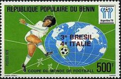 [Argentina's Victory in the Football World Cup - Argentina - Stamps of 1978 Overprinted, type CM2]