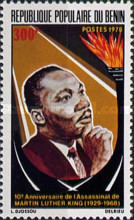 [The 10th Anniversary of Martin Luther King's Assassination, 1929-1968, Typ CQ]