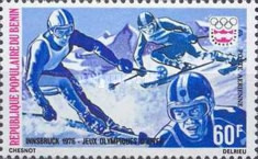 [Airmail - Winter Olympic Games - Innsbruck, Austria, type D]