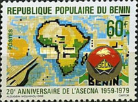[The 20th Anniversary of ASECNA (African Air Safety Organization), Typ EH]
