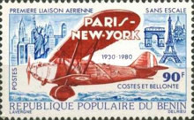 [The 50th Anniversary of First Paris-New York Non-stop Flight, Typ FG]