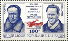[The 50th Anniversary of First Paris-New York Non-stop Flight, type FH]