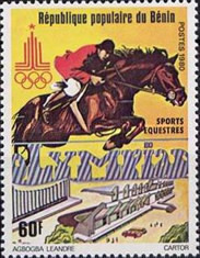 [Olympic Games - Moscow, USSR, type FL]