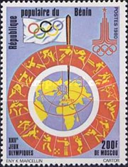 [Olympic Games - Moscow, USSR, type FN]