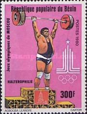 [Olympic Games - Moscow, USSR, type FO]