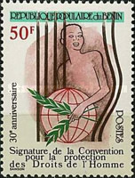 [The 30th Anniversary of Signing of Human Rights Convention, type GI]
