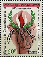 [The 30th Anniversary of Signing of Human Rights Convention, type GJ]