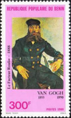 [The 90th Anniversary of the Death of Van Gogh (Artist), 1853-1890, Typ GL]