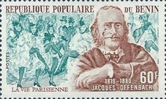 [The 100th Anniversary of the Death of Jacques Offenbach (Composer), 1819-1880, Typ GN]