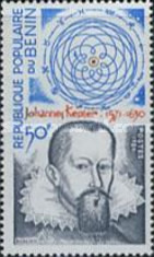 [The 30th Anniversary of the Death of Johannes Kepler (Astronomer), 1571-1630, Typ GO]