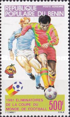 [Airmail - Football World Cup - Spain, type GR]