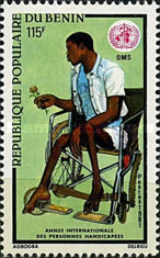 [International Year of Disabled People, type GS]