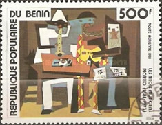 [Airmail - The 100th Anniversary of the Birth of Pablo Picasso, 1881-1973, type HG]