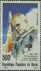 [Airmail - The 20th Anniversary of First United States Manned Space Flight, Typ HL]