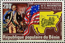 [The 250th Anniversary of the Birth of George Washington, Typ HN]
