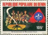 [Airmail - The 75th Anniversary of Boy Scout Movement, Typ HP]