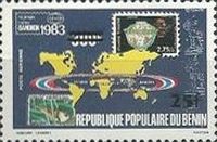 [Airmail - Various Stamps Surcharged, Typ IJ1]