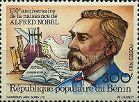 [The 150th Anniversary of the Birth of Alfred Nobel, 1833-1896, Typ IV]