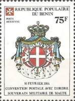 [Airmail - Postal Convention between Benin and Sovereign Military Order of Malta, Typ JM]