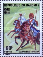 [Various Dahomey Stamps Overprinted