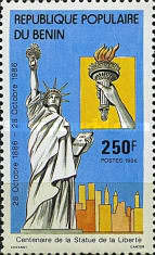 [The 100th Anniversary of Statue of Liberty, Typ LD]