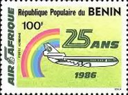 [Airmail - The 25th Anniversary of Air Afrique, Typ LG]