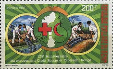 [The 125th Anniversary of Red Cross Movement, Typ LS]