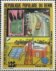 [The 20th Anniversary of Benin Electricity Community, Typ MM]