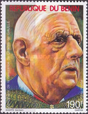 [The 100th Anniversary of the Birth of Charles de Gaulle (French Statesman), 1890-1970, type MX]