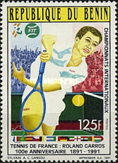 [The 100th Anniversary of French Open Tennis Championships, type NC]