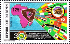 [The 30th Anniversary of Organization of African Unity, Typ NY]