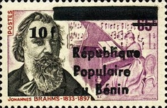 [Airmail - Various Dahomey Stamps Overprinted
