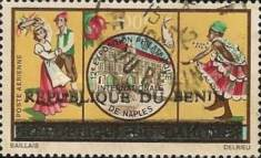 [Airmail - Various Dahomey Stamps Overprinted, type XNI4]