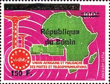 [Airmail - Various Dahomey Stamps Overprinted, Typ XRO26]