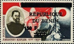 [Airmail - Various Dahomey Stamps Overprinted, Typ XRO39]