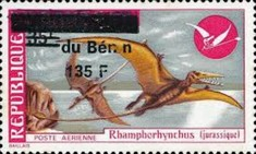 [Airmail - Various Dahomey Stamps Overprinted, Typ XVM5]