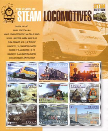 [Steam Locomotives, Typ ]