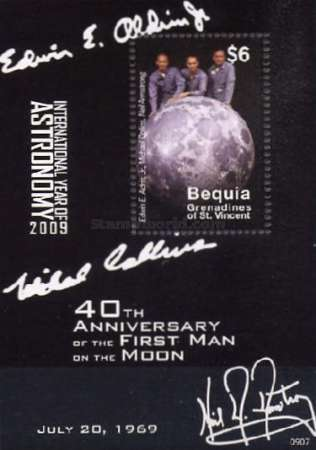 [The 40th Anniversary of the First Manned Moon Landing, Typ ]