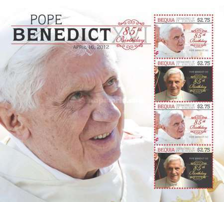 [The 85th Anniversary of the Birth of Pope Benedict XVI, Typ ]