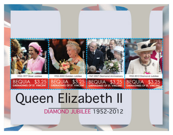 [The 60th Anniversary (2012) of the Coronation of Queen Elizabeth II, Typ ]